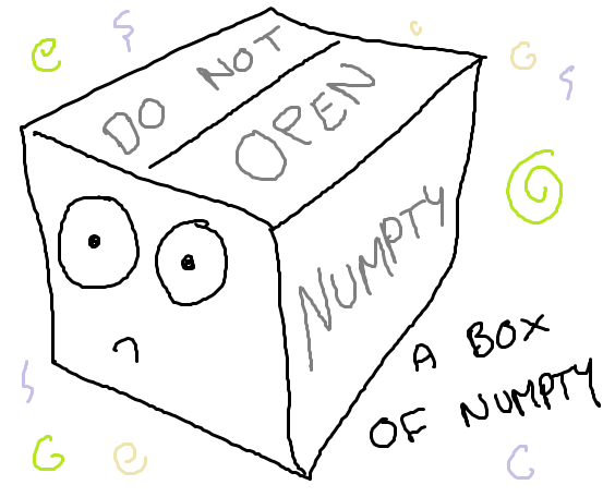 A box of numpty